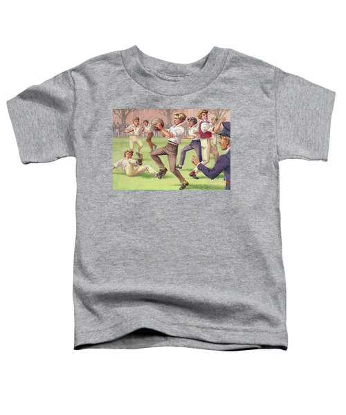 The Origins Of Rugby Toddler T-Shirt
