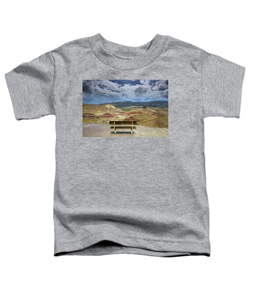 The Overlook At Painted Hills In Oregon Toddler T-Shirt