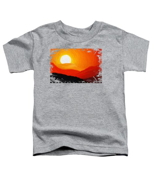 The Painted Desert Signature Series Toddler T-Shirt by Di Designs