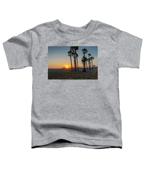 The Pier At Sunset Toddler T-Shirt