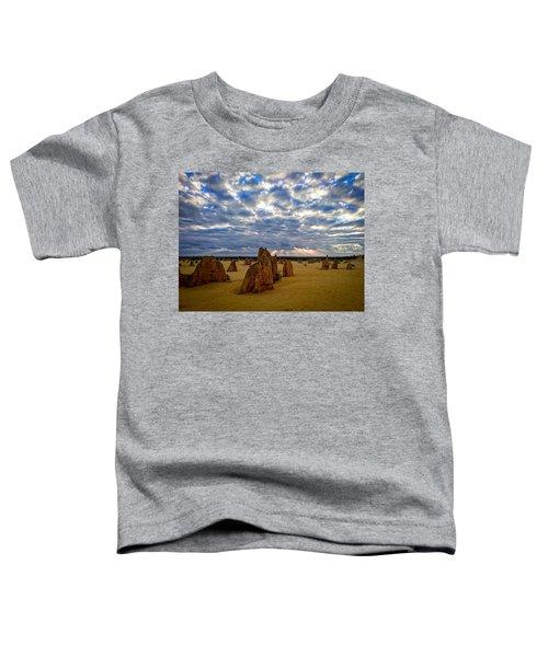 The Pinnacles Sunset Toddler T-Shirt