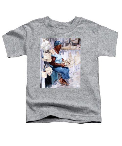 The Plait Lady Toddler T-Shirt