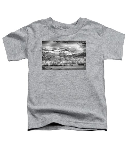 The Queen Of The San Juans In Monochrome Toddler T-Shirt