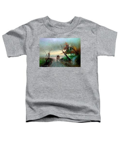 The Rays Of The Morning Sun Toddler T-Shirt