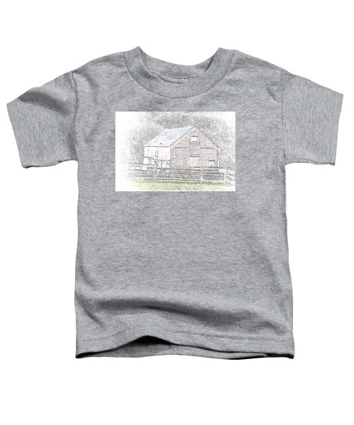 The Red Barn Toddler T-Shirt