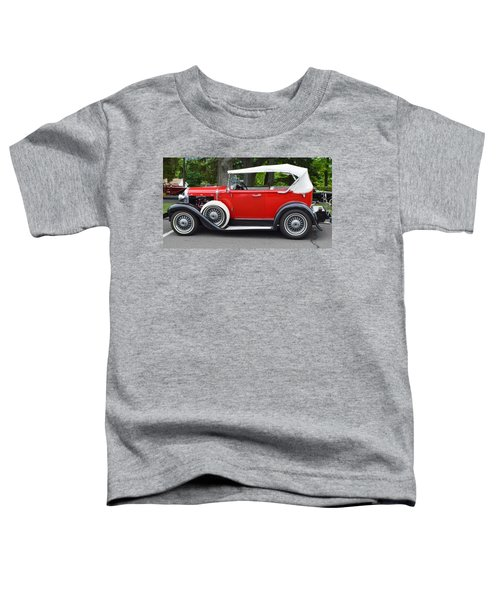 The Red Convertible Toddler T-Shirt