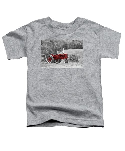 The Red Tractor Toddler T-Shirt