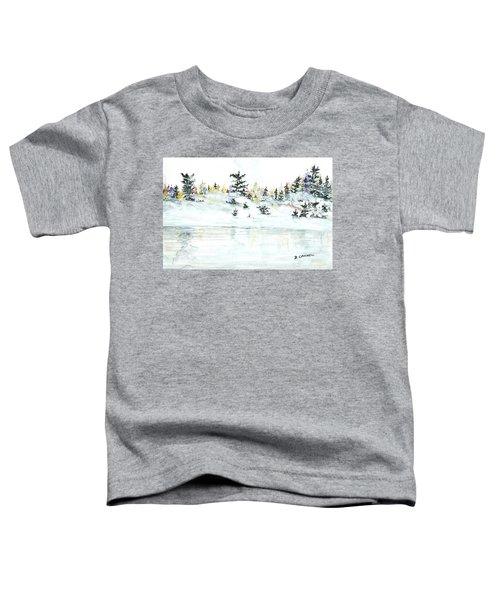The Reflection Lake Toddler T-Shirt