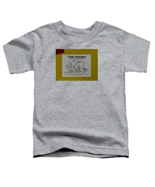 The Rhino Ballast Regulator Toddler T-Shirt