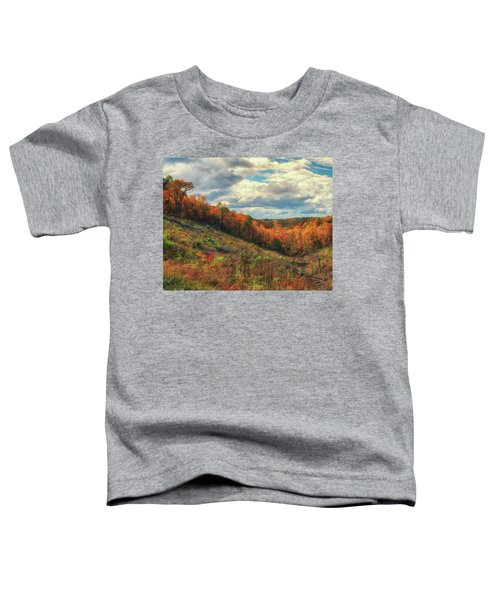The Ridges Of Southern Ohio In Fall Toddler T-Shirt
