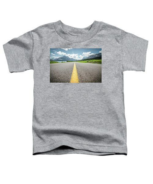 The Road To Glacier Toddler T-Shirt