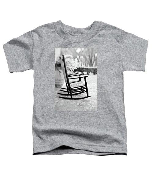 The Rocker - Bw Toddler T-Shirt