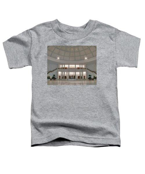 The Rotunda 8 X 10 Crop Toddler T-Shirt
