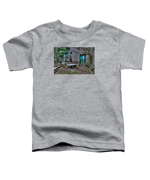 The Round Table House In The Abandoned Village Of The Ligurian Mountains High Way Toddler T-Shirt