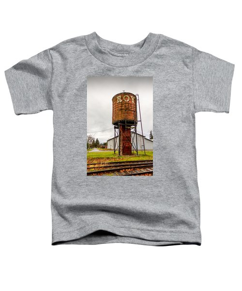 The Roy Water Tower Toddler T-Shirt