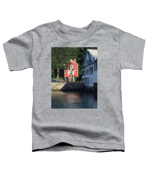 The Sacred Cod And Beacon Marine Toddler T-Shirt