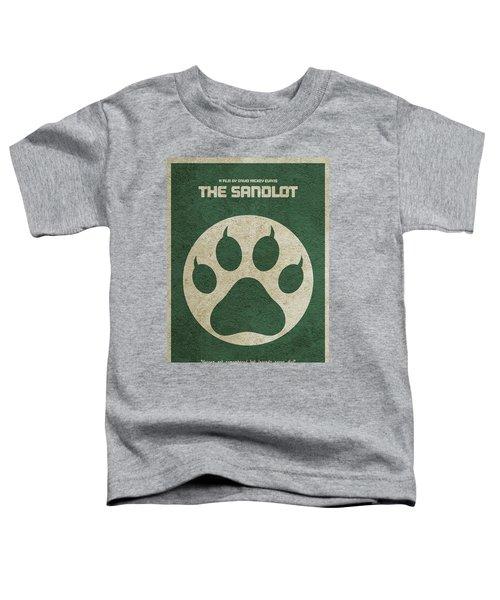 The Sandlot Alternative Minimalist Movie Poster Toddler T-Shirt by Ayse Deniz