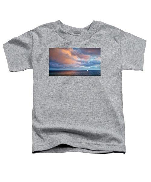 The Sea At Peace Toddler T-Shirt