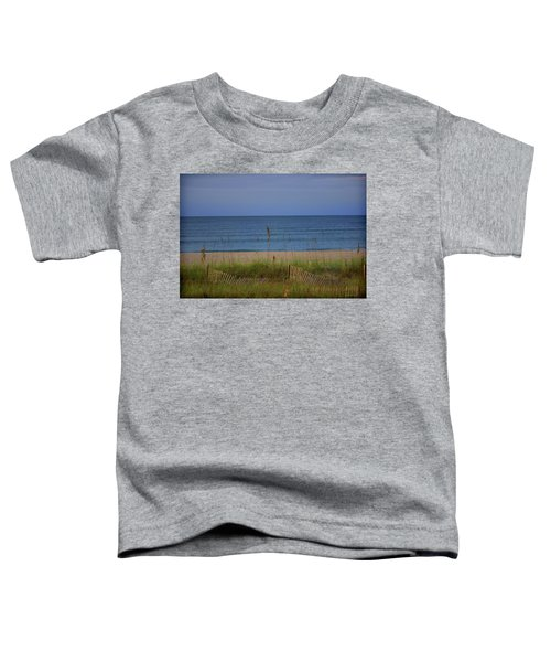The Sea Shore Line Toddler T-Shirt