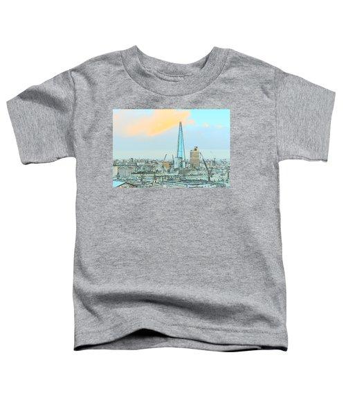 The Shard Outline Poster Toddler T-Shirt