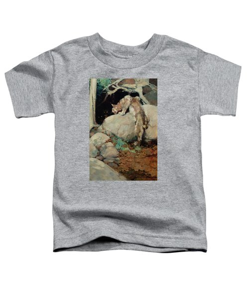 The She Wolf And Lynx Toddler T-Shirt