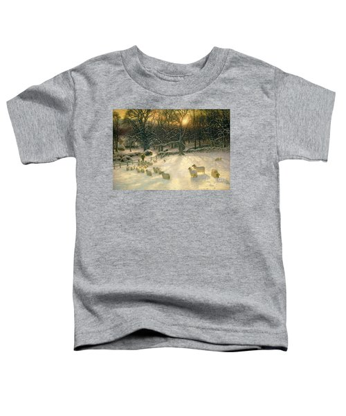 The Shortening Winters Day Is Near A Close Toddler T-Shirt
