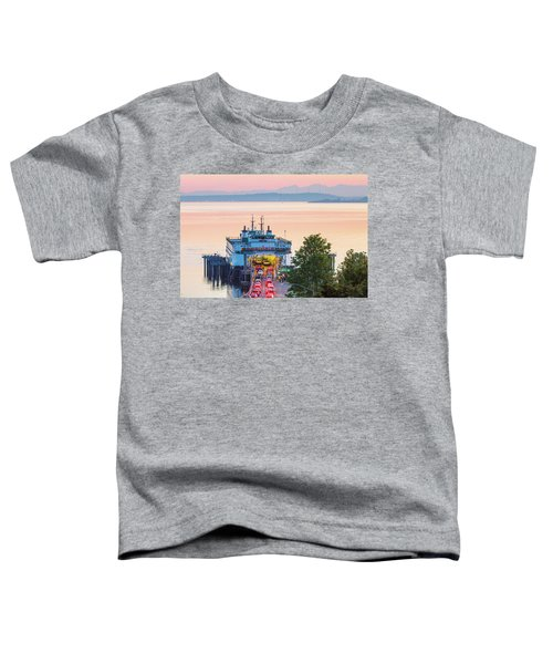 The Six O'clock Ferry Toddler T-Shirt