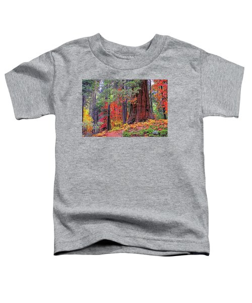 The Small And The Mighty Toddler T-Shirt