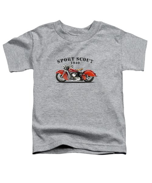 The Sport Scout Motorcycle Toddler T-Shirt