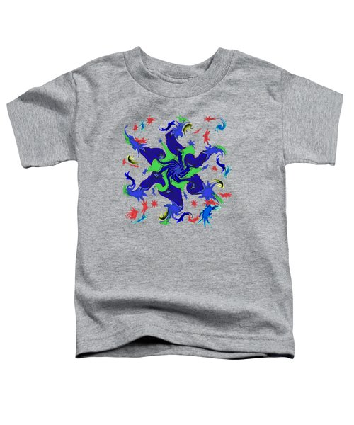 11020 The Stars That Dance Inside My Mind Toddler T-Shirt