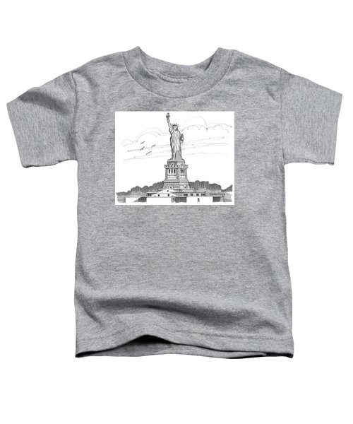 The Statue Of Liberty Lighthouse Toddler T-Shirt