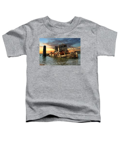 The Sunset Years Of The Mary D. Hume Toddler T-Shirt