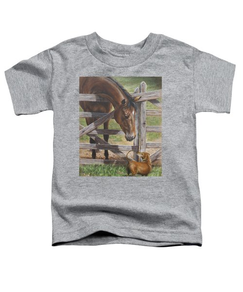 The Tall And Short Of It Toddler T-Shirt