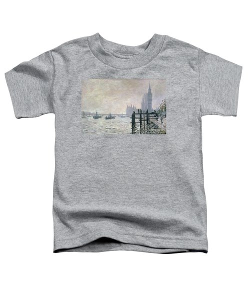 The Thames Below Westminster Toddler T-Shirt