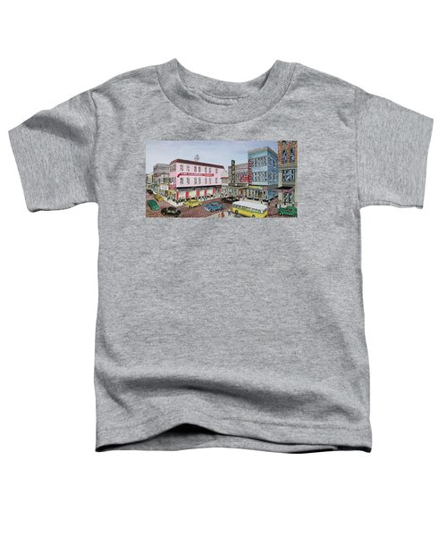 The Theater District Portsmouth Ohio 1948 Toddler T-Shirt