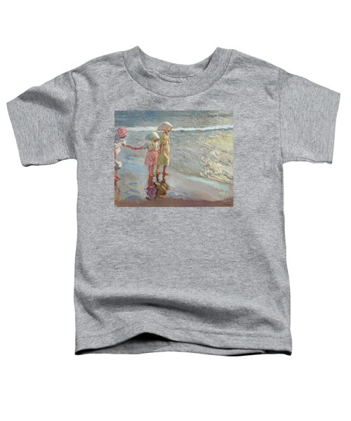The Three Sisters On The Beach Toddler T-Shirt