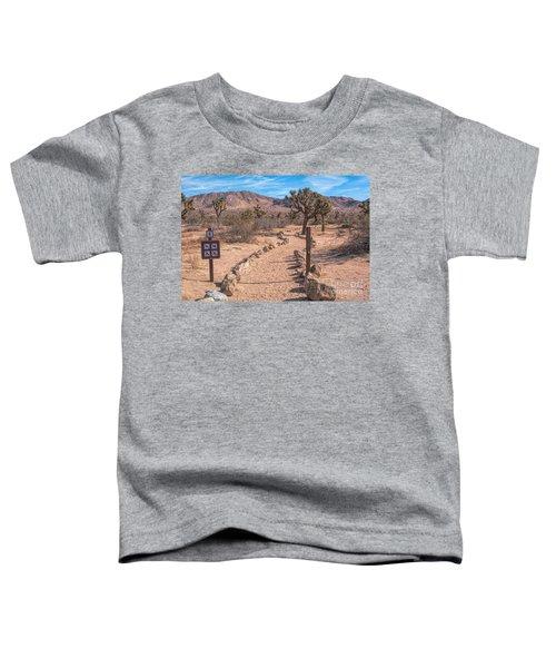 The Trailhead Toddler T-Shirt