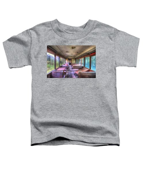 The Tram Leaves The Station... Inside Toddler T-Shirt