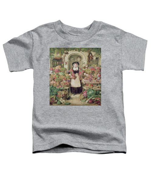 The Vegetable Stall  Toddler T-Shirt