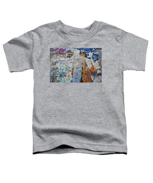The Wall #10 Toddler T-Shirt
