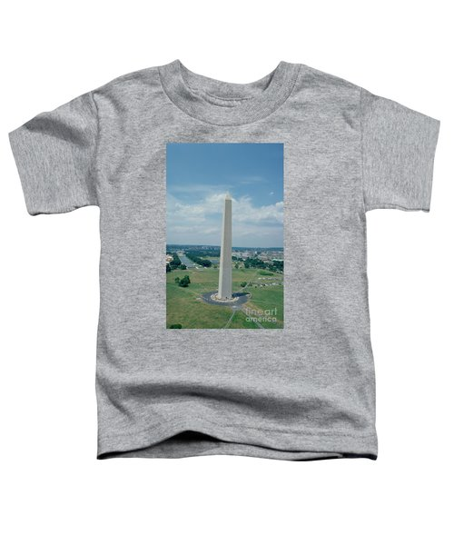 The Washington Monument Toddler T-Shirt by American School