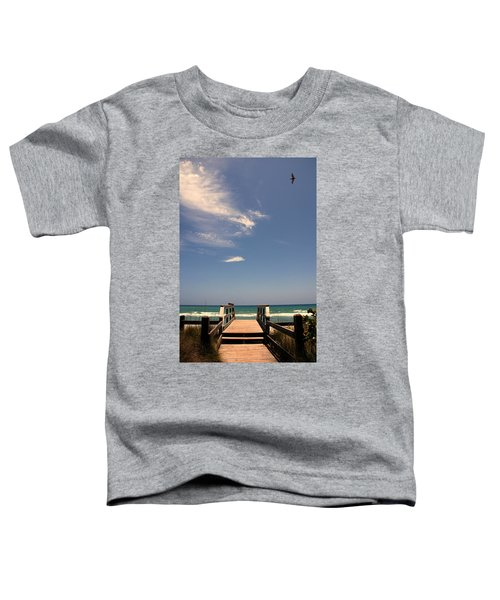 The Way Out To The Beach Toddler T-Shirt
