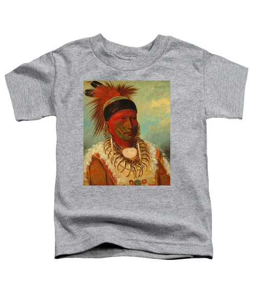 The White Cloud, Head Chief Of The Iowas Toddler T-Shirt