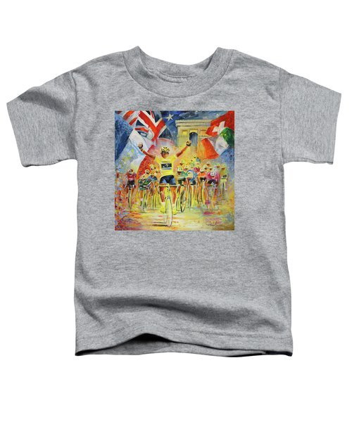The Winner Of The Tour De France Toddler T-Shirt
