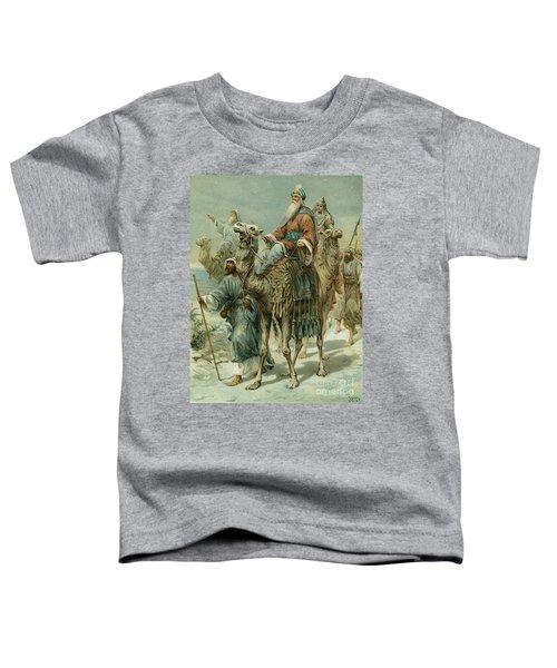 The Wise Men Seeking Jesus Toddler T-Shirt
