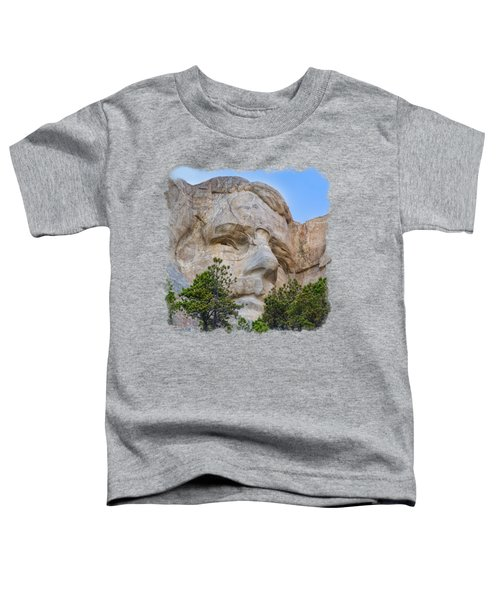 Theodore Roosevelt 3 Toddler T-Shirt by John M Bailey