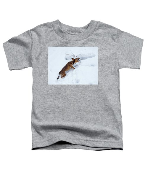 There's No Mountain To High Toddler T-Shirt