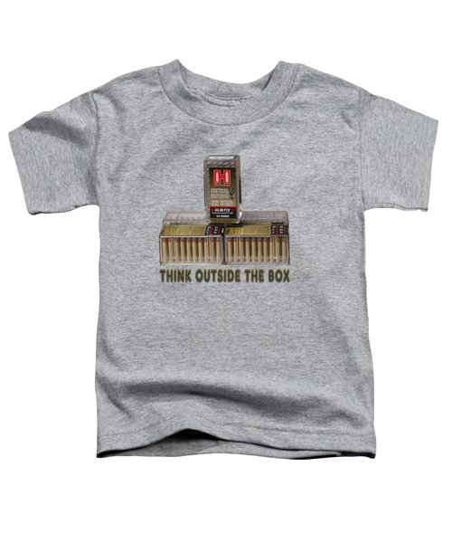 Think Outside The Box Toddler T-Shirt