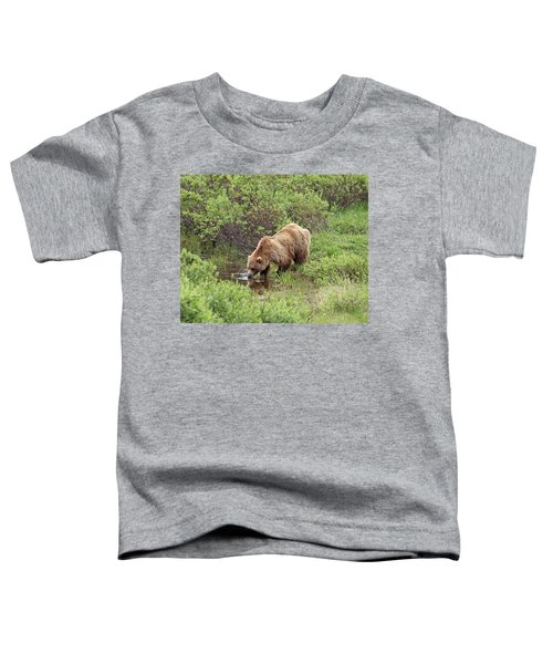 Thirsty Grizzly Toddler T-Shirt