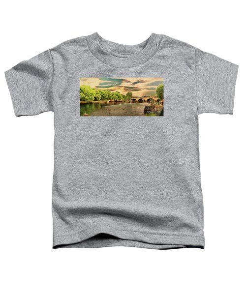 This Morning On The River Toddler T-Shirt